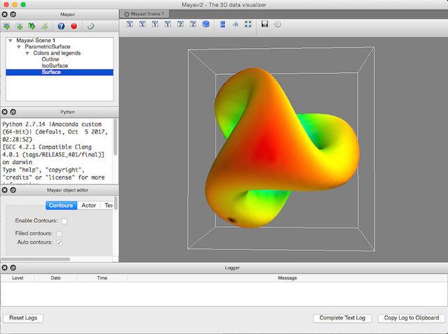 Schockwellenreiter: MayaVi: 3D-Visualisierungen mit Python (2 7)