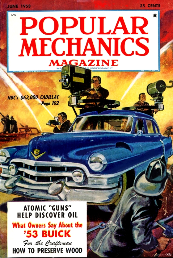 1953 POPULAR MECHANICS How to Build Your Own Garage Magazine